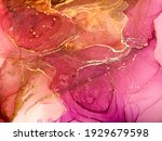 Marble Background. Rose...