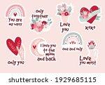 Set Stickers Bohemian Romantic...