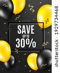 save up to 30 percent....   Shutterstock .eps vector #1929734468