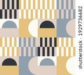 modern vector abstract seamless ... | Shutterstock .eps vector #1929736682