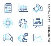 finance icons set. included...   Shutterstock .eps vector #1929741098
