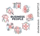 set of business people icon.... | Shutterstock .eps vector #1929769715