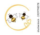 Bee  Cartoons  With  Heart ...