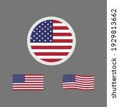 united states of america flag.... | Shutterstock .eps vector #1929813662