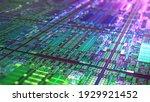 Technology Background Cpu...
