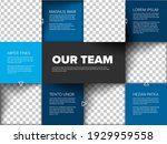company team mosaic... | Shutterstock .eps vector #1929959558