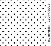 seamless vector pattern black ... | Shutterstock .eps vector #1929970028