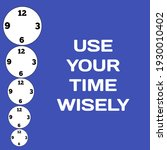 use your time wisely  please  | Shutterstock . vector #1930010402