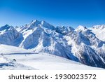 Caucasus Mountains  Panoramic...