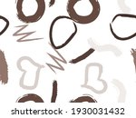 cute seamless pattern with... | Shutterstock .eps vector #1930031432