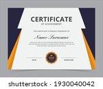 Modern Certificate Template...