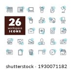 workspace outline icon....