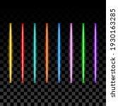 neon lights set  led tubes ...   Shutterstock .eps vector #1930163285