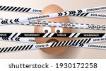 sad emoji easter egg and... | Shutterstock .eps vector #1930172258
