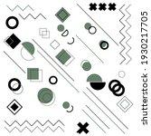 set of geometric shapes. good... | Shutterstock .eps vector #1930217705