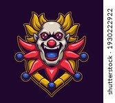 clown head logo gaming.... | Shutterstock .eps vector #1930222922