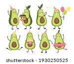 set vector illustration of cute ...   Shutterstock .eps vector #1930250525