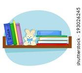 children's books and plush...   Shutterstock . vector #193026245
