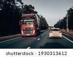 02 03 2021 riga  latvia highway ...