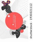 abstract vector illustration... | Shutterstock .eps vector #1930321112