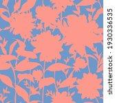 vector floral seamless pattern. ... | Shutterstock .eps vector #1930336535
