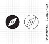 compass vector illustration ...