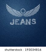 background,bird,blue,casual,closeup,cloth,clothing,color,decoration,denim,design,detail,dress,element,fabric