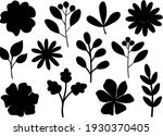 plants flowers leaves... | Shutterstock .eps vector #1930370405