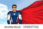 super duper american | Shutterstock .eps vector #193037762
