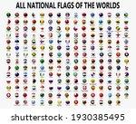 all national spherical flags. ...   Shutterstock .eps vector #1930385495