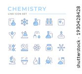 set color line icons of... | Shutterstock .eps vector #1930428428