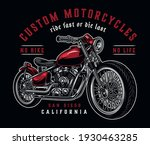 custom motorcycle colorful... | Shutterstock .eps vector #1930463285
