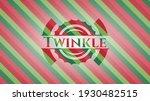 twinkle christmas colors emblem.... | Shutterstock .eps vector #1930482515