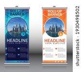 blue and orange smart modern... | Shutterstock .eps vector #1930498502