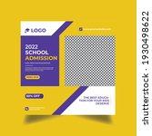 admission promotion social... | Shutterstock .eps vector #1930498622