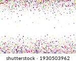 blue falling confetti... | Shutterstock .eps vector #1930503962