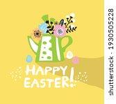 happy easter  vector... | Shutterstock .eps vector #1930505228