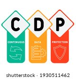 cdp   continuous data... | Shutterstock .eps vector #1930511462