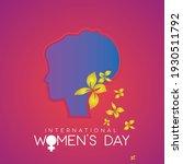 illustration of happy women's... | Shutterstock .eps vector #1930511792