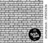 Seamless Brick wall - stock vector