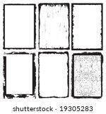 frames | Shutterstock .eps vector #19305283