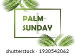 vector background of palm...   Shutterstock .eps vector #1930542062