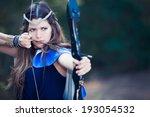 Fictional Forest Hunter Girl...