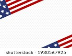 usa abstract background with... | Shutterstock . vector #1930567925