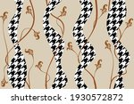 seamless abstract goose foot...   Shutterstock .eps vector #1930572872