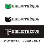 library logo for france. hand...   Shutterstock .eps vector #1930575875