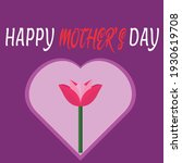 mother's day beautiful idea... | Shutterstock .eps vector #1930619708