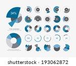 infographic elements.pie chart... | Shutterstock .eps vector #193062872