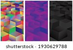 set of abstract background....