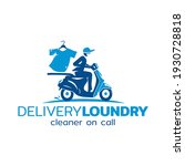 logo design for laundry clothes | Shutterstock .eps vector #1930728818